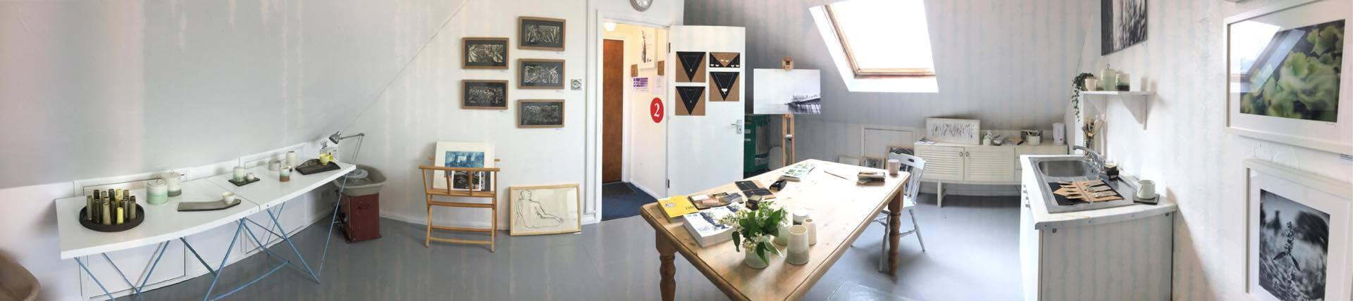 Panorama of my studio